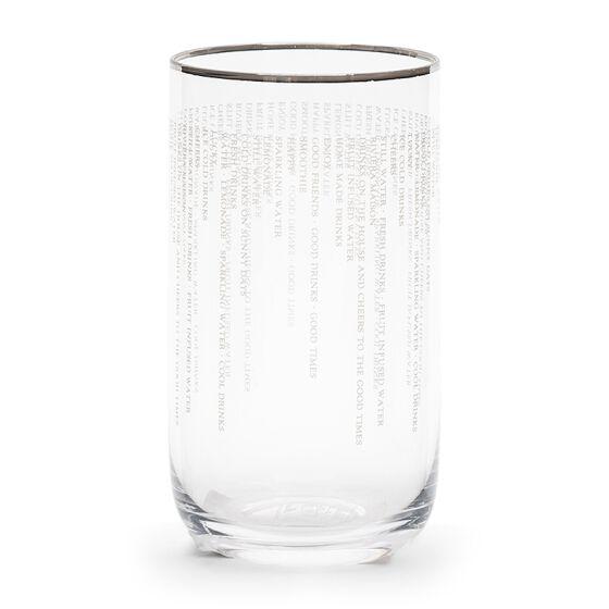 Fresh Drinks Glass M