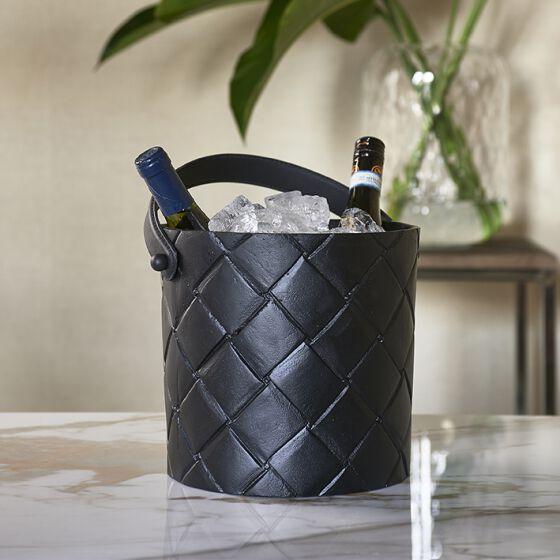 Brittania Wine Cooler, Weinkühler schwarz